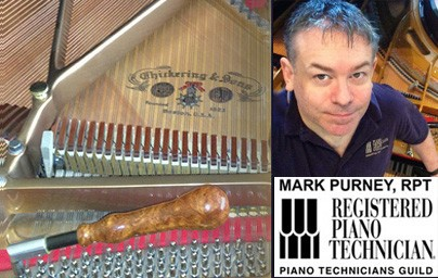 Mark Purney, Registered Piano Technician - Phoenix Piano Tuner