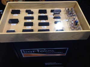 Bartolini Bass Pickups