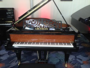 A fine Grotrian piano from Germany