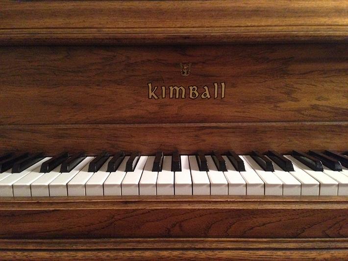 Kimball grand fallboard